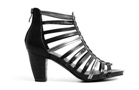 high heeled shoe: Stylish high heeled shoe Stock Photo