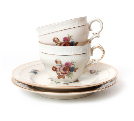Old tea cup Stock Photo - 8507459