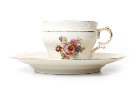Old tea cup Stock Photo - 8505827