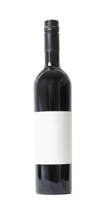 Red wine bottle Stock Photo - 8507402