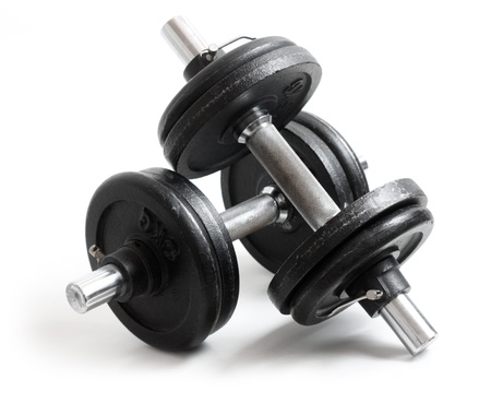 Weights Stock Photo