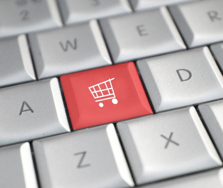 Shopping online Stock Photo - 8534131