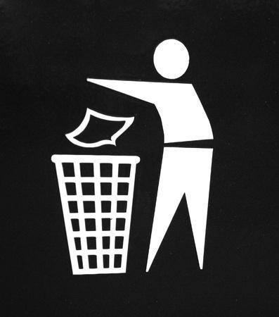Waste icon Stock Photo - 8534039
