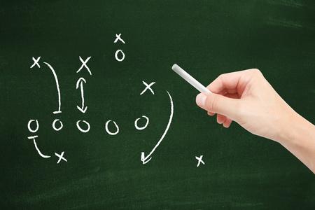 soccer coach: Sport tactics