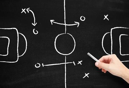 football tackle: Sport tactics