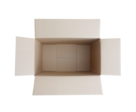 Cardboard box Stock Photo - 8534087