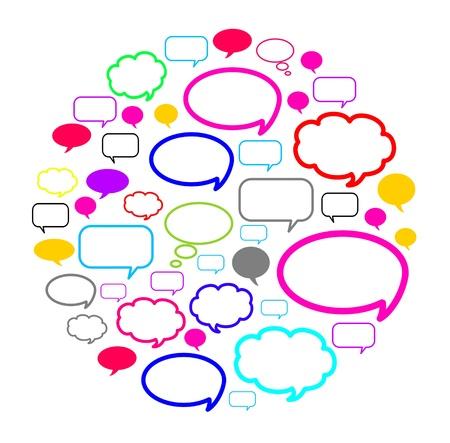 Medios de comunicación social Foto de archivo - 8533961