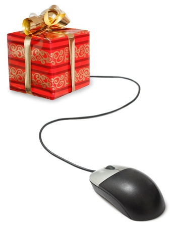 Christmas shopping photo