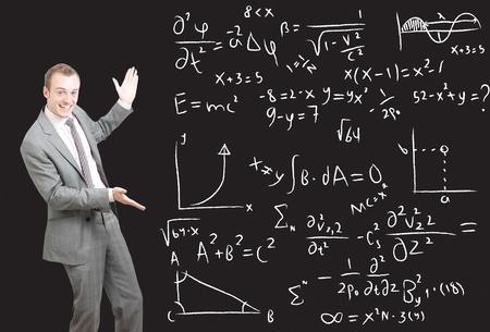 formulae: Equations Stock Photo