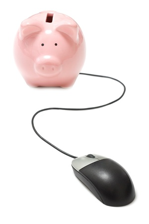 online banking: Online banking Stock Photo