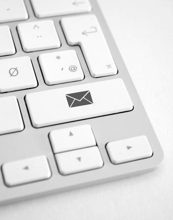 shortcut: Email shortcut Stock Photo