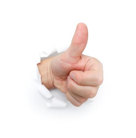 break up: Thumbs up