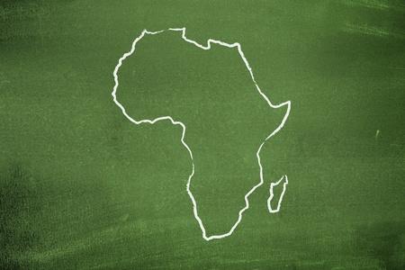 continente africano: Mapa de África