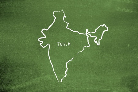 Indian map photo
