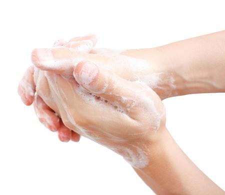 higiena: RÄ…k Zdjęcie Seryjne