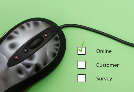 Online customer survey photo