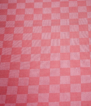 Checkered red textile photo