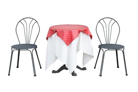 테이블과 의자 스톡 콘텐츠