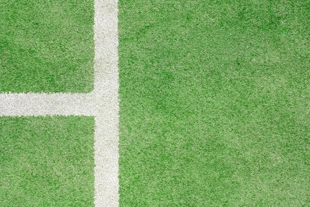 Detail on a tennis court photo