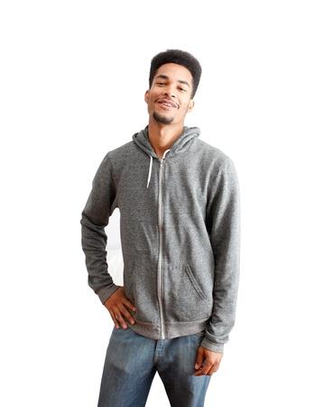 Casual black guy photo