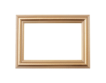 rectangle frame: Frame isolated on white