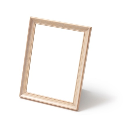 Photo frame standing Stock Photo