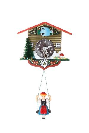 cuckoo: Cuckoo clock Stock Photo