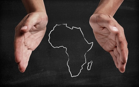 Support africa Stock Photo - 11150979