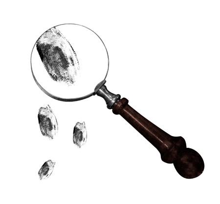 criminal investigation: Fingerprints