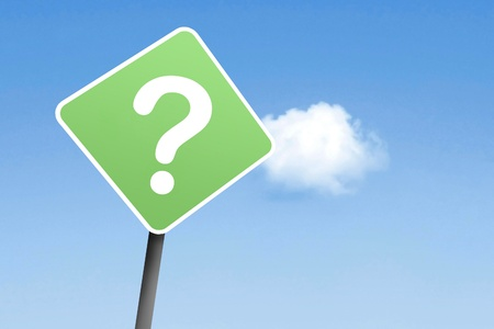 persona confundida: Questionmark el signo