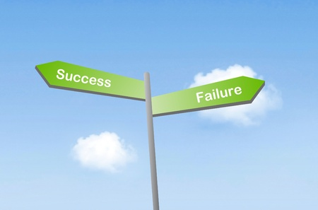 Success or failure Stock Photo - 11151042