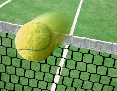 raqueta de tenis: Tenis Foto de archivo