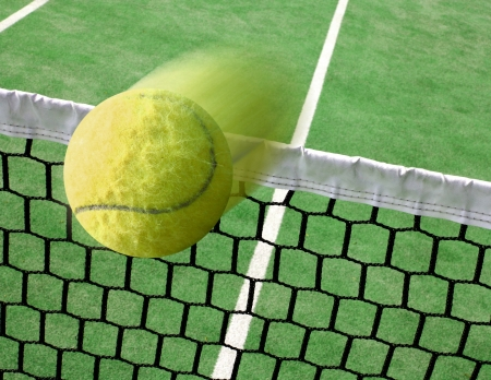 tennis balls: Tennis