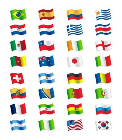 bandera de portugal: Banderas 2014 Brasil