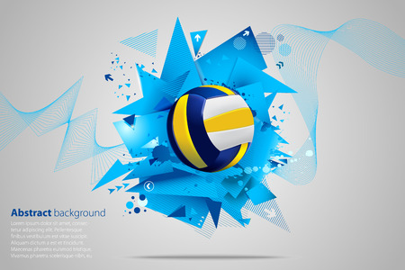 volleybal abstract