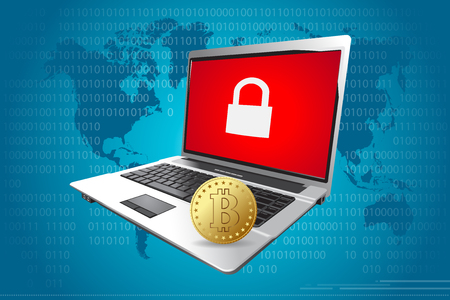 display problem: Hacker demand Bitcoin payments to restore computer systems.