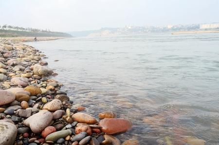 pebbles: River pebbles Stock Photo