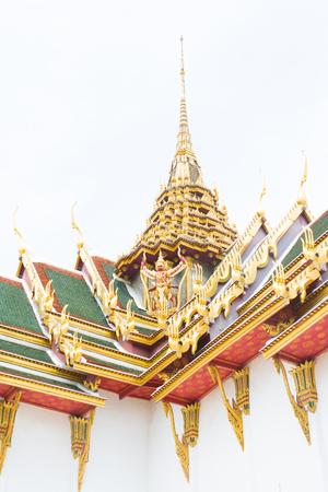 garuda: Thai architecture with the garuda Editorial