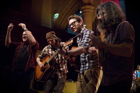 Turin Brakes live at the Revelation St  Marys in Ashford