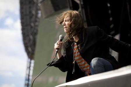 Patti Smith live auf der Hop Farm Festival Standard-Bild - 25871240