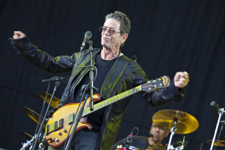 Lou Reed live at the Hop Farm Festival