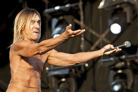 Iggy Pop live at the Hop Farm Festival