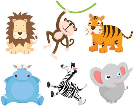 animaux zoo: Mignon Wild Animal
