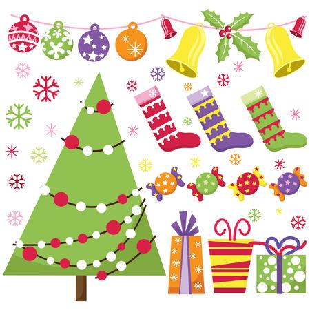 public celebratory event: Retro Christmas Set
