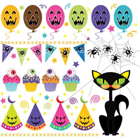 public celebratory event: Halloween Party Set