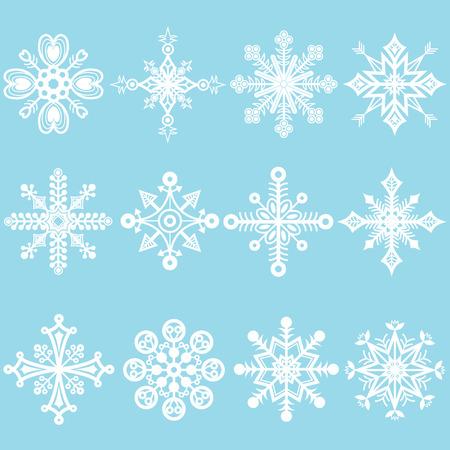 public celebratory event: Snowflakes Set
