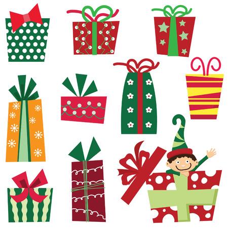 Christmas Presents Stock Illustratie