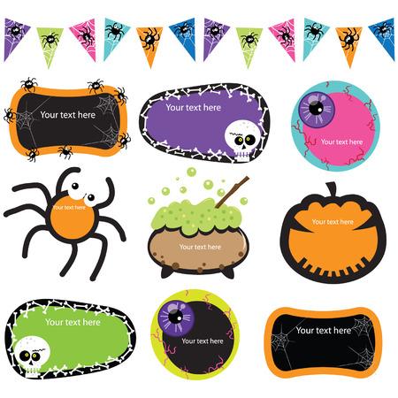 Halloween Invitation Frames