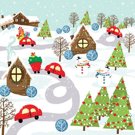 car ornament: Christmas City
