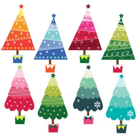 public celebratory event: Colorful Christmas Trees